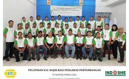 PT Kapuas Prima Coal – Batch III