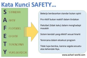 KATA KUNCI SAFETY