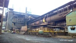 smelter pertambangan mineral nikel nickel PT Vale Indonesia Tbk INCOdi Sorowako, Sulawesi Selatan.