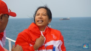 Menteri Rini Sindir Bos-Bos BUMN Tambang Soal Nilai Tambah