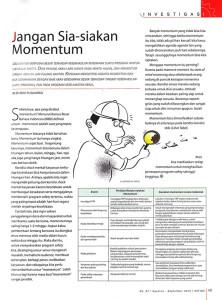 Artikel Jangan Sia-siakan Momentum_Majalah KATIGA