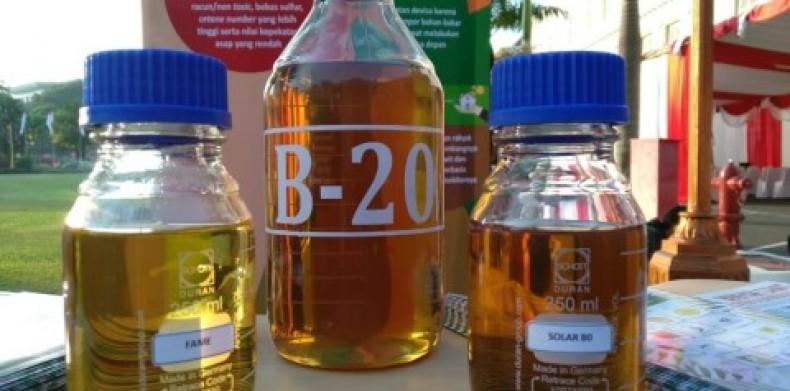 Realisasi Kewajiban B20 Baru Sekitar 85%