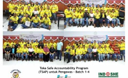 Toka Safe Accountability Program (TSAP) untuk Pengawas  Batch 1-4