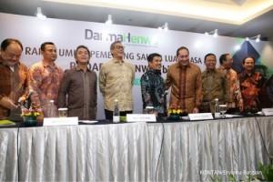 erviana.bastian-PT Darma Henwa Tbk adakan RUPSLB di Jakarta. Ubah Susunan Direksi Darma Henwa adakan RUPSLB