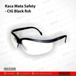 Kaca Mata Safety - CIG Black fish