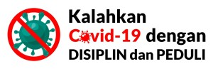 Kalahkan Covid dengan disiplin