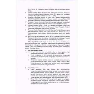 Surat edaran Menkes 2