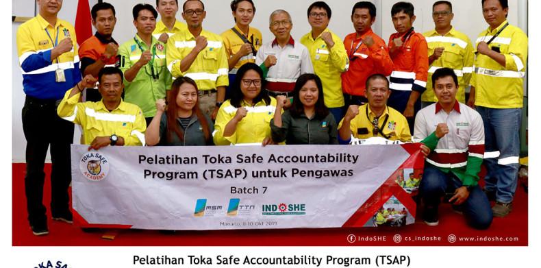 Toka Safe Accountability Program (TSAP) untuk Pengawas – Batch 7